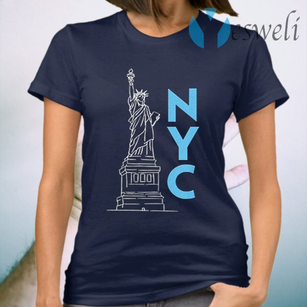 Statue Of Liberty New York City T-Shirt