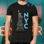 Statue Of Liberty New York City T-Shirts