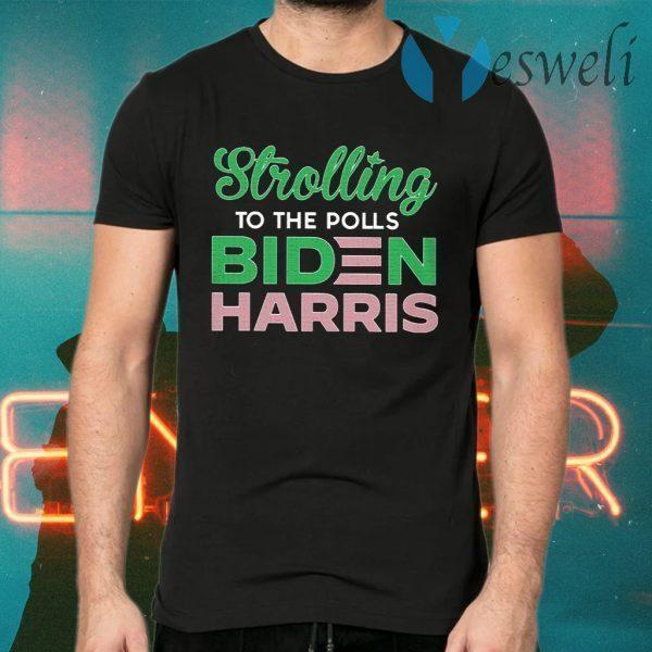 Stroll To The Polls Biden Harris T-Shirts