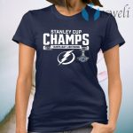 Tampa Bay Lightning Stanley Cup Champs 2020 T-Shirt