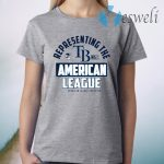 Tampa Bay Rays 2020 American League Champions T-Shirt