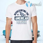 Tampa Bay Rays 2020 American League Champions T-Shirts