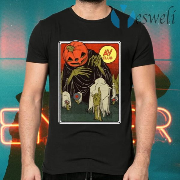 The AV Club Halloween Merch Night Of The Living Dead T-Shirts