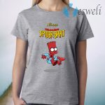 The Avengers Featuring The Amazing Spider Bart T-Shirt