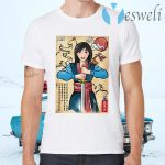 The Legend of the Woman Warrior Woodblock T-Shirts