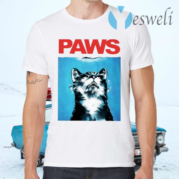 Tony Gonsolin cat paws T-Shirts