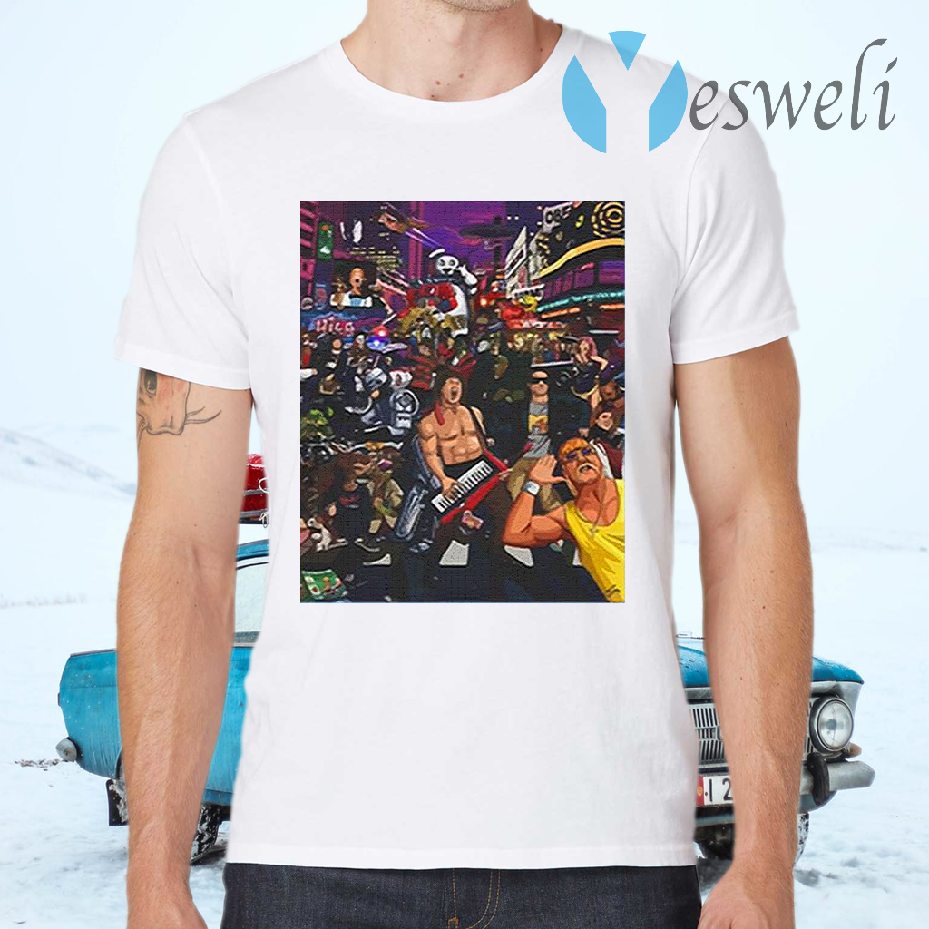 Tribute To 80s Pop Culture T-Shirts