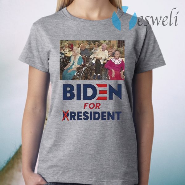 Trump Biden for president T-Shirt