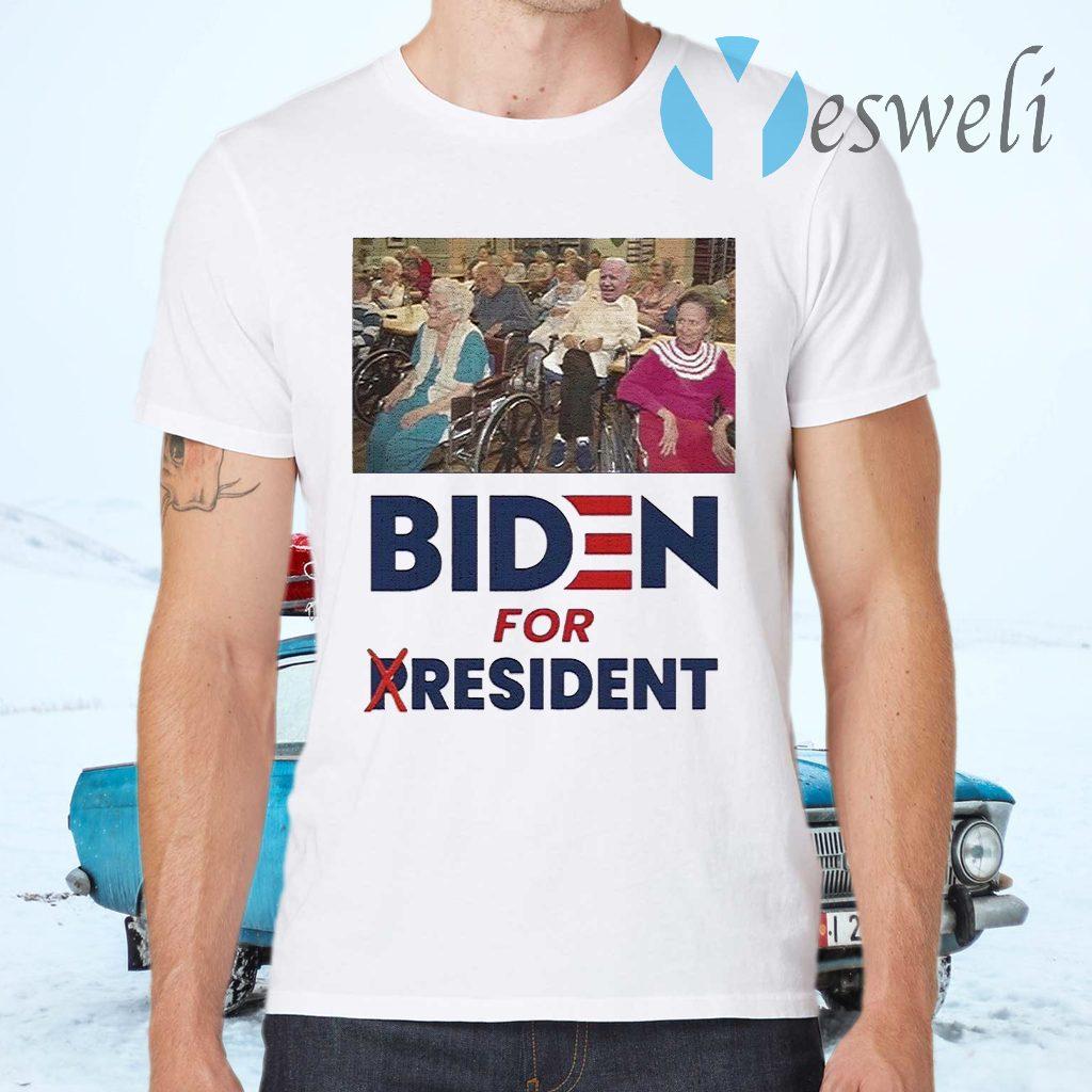 Trump Biden for president T-Shirts