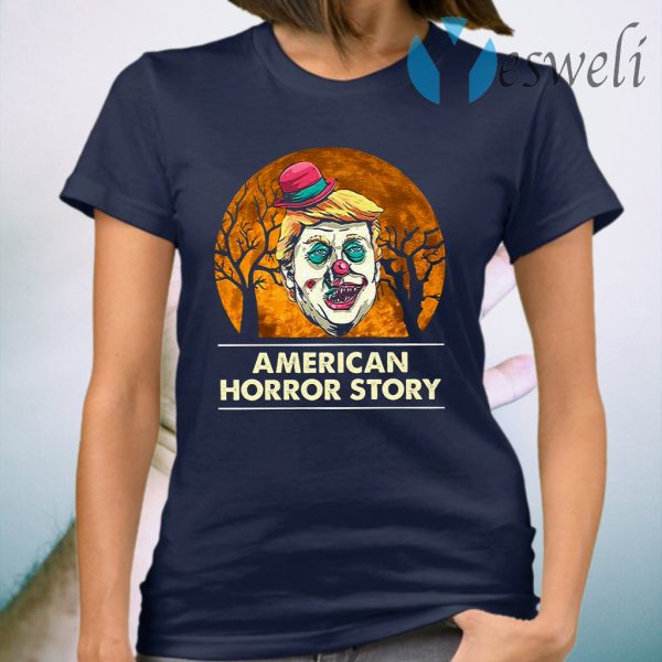Trump Clown American Horror Story Halloween T-Shirt