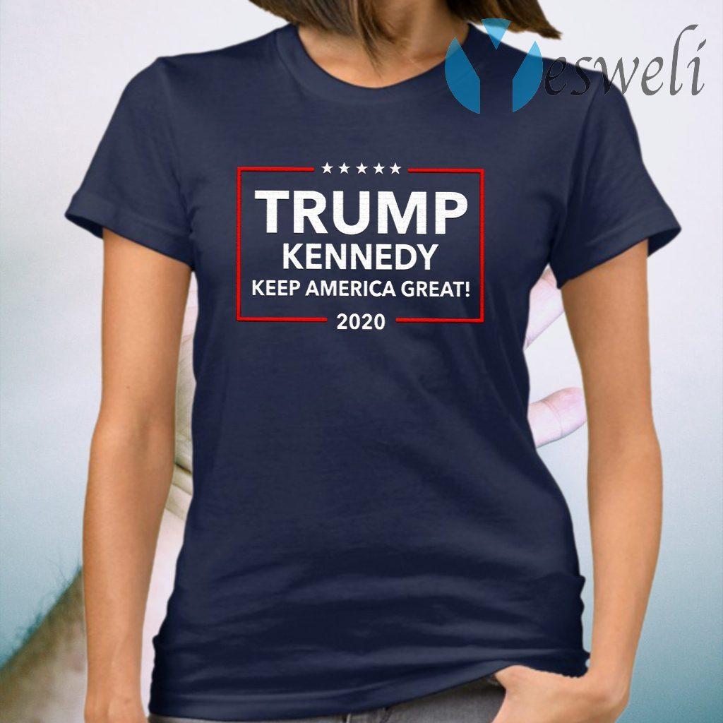 Trump Kennedy Keep America Great 2020 T-Shirt