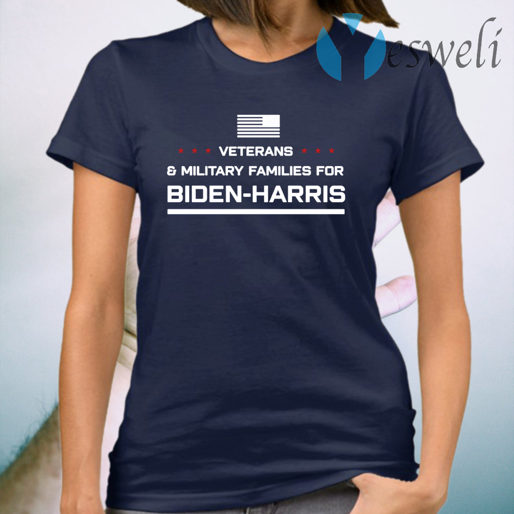Veterans And Military Families For Biden Harris T-Shirt