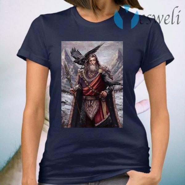 Viking odin ravens T-Shirt