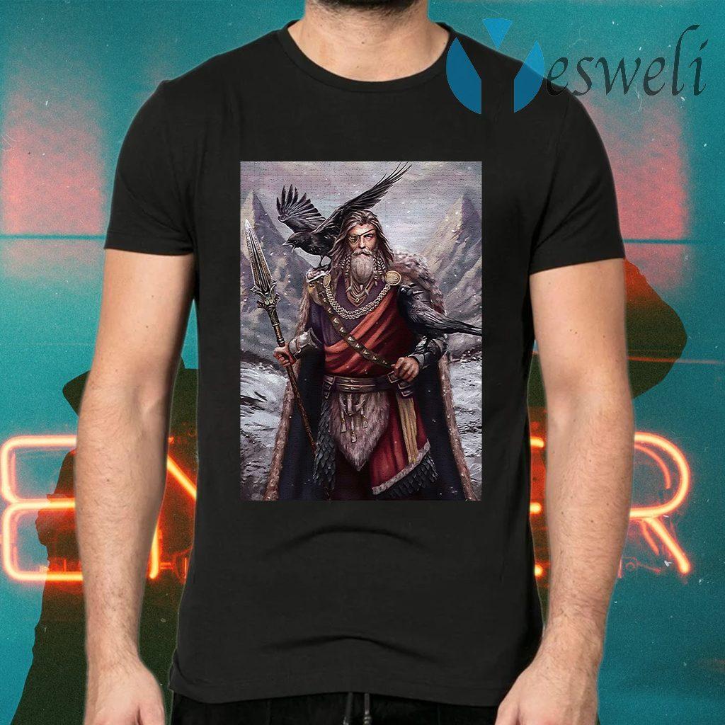 Viking odin ravens T-Shirts