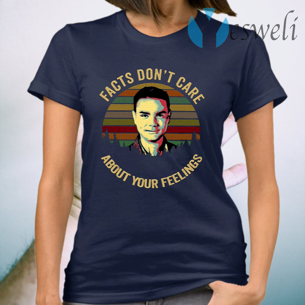 Vintage Facts Dont Care About Your Feelings Ben Shapiro T-Shirt