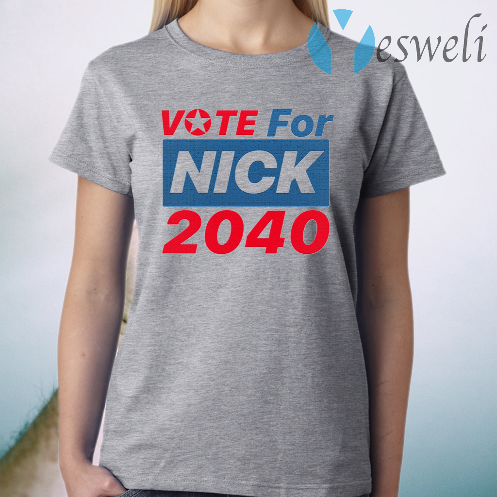 Vote For Nick 2040 T-Shirt