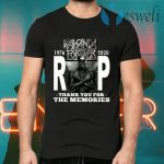 Wakanda Forever Rip Black Panther 1976 2020 Thank You For The Memories T-Shirts