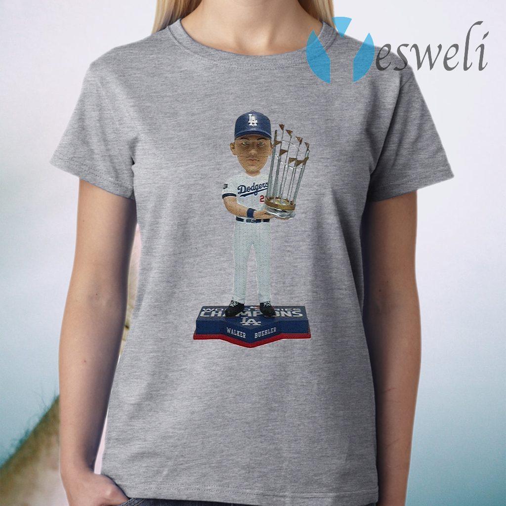 Walker Buehler Los Angeles Dodgers 2020 World Series Champions T-Shirt