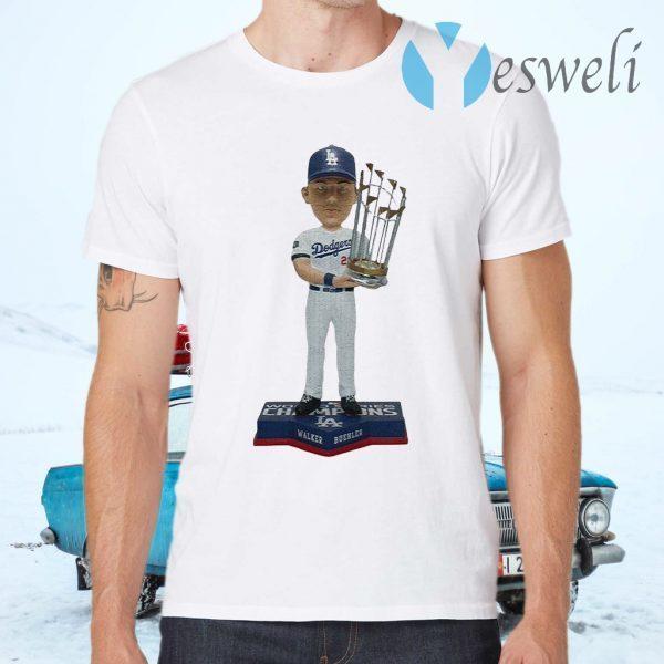Walker Buehler Los Angeles Dodgers 2020 World Series Champions T-Shirts