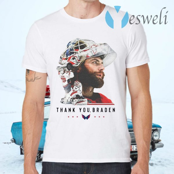Washington Capitals thank You Braden Holtby T-Shirts