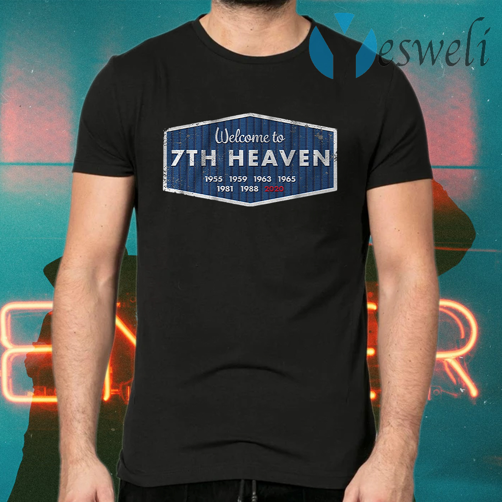 Welcome to 7th heaven T-Shirts