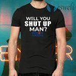 Will You Shut Up Joe Biden To Donald Trump 2020 T-Shirts