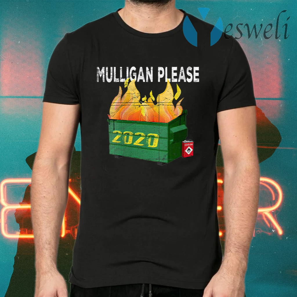 Women's Funny 2020 Dumpster Fire Golfer Mulligan Do Over T-Shirts