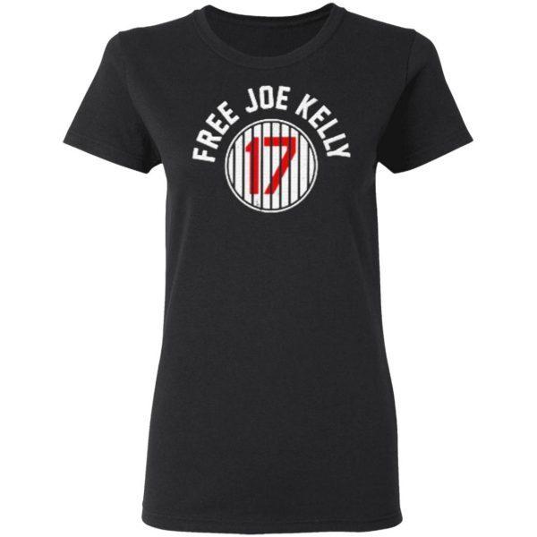 Free Joe Kelly T-Shirt