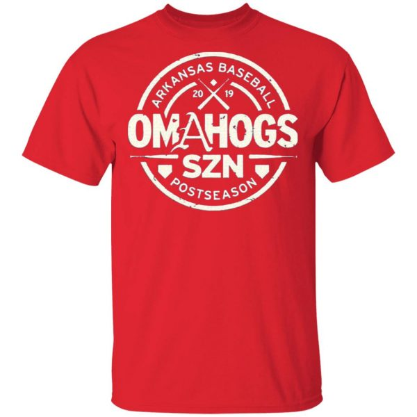 OmaHogs SZN Arkansas Baseball 2019 T-Shirt