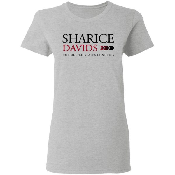 Sharice Davids For United States Congress T-Shirt