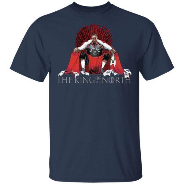 The King Of The North Iron Throne Kawhi Leonard Toronto Raptors T-Shirt