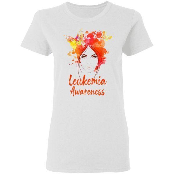 Leukemia Awareness Butterflies T-Shirt