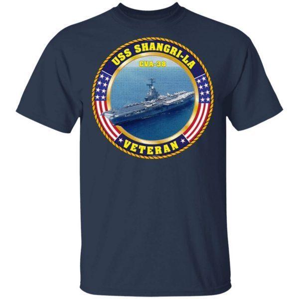 USS Shangri-La (CVA-38) T-Shirt