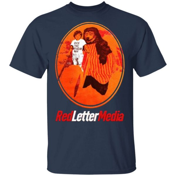 Red Letter Media Dick the Birthday Boy T-Shirt
