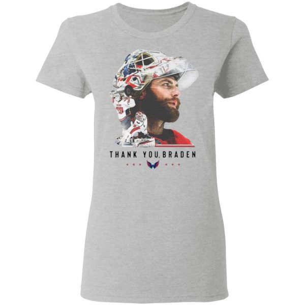 Washington Capitals thank You Braden Holtby T-Shirt
