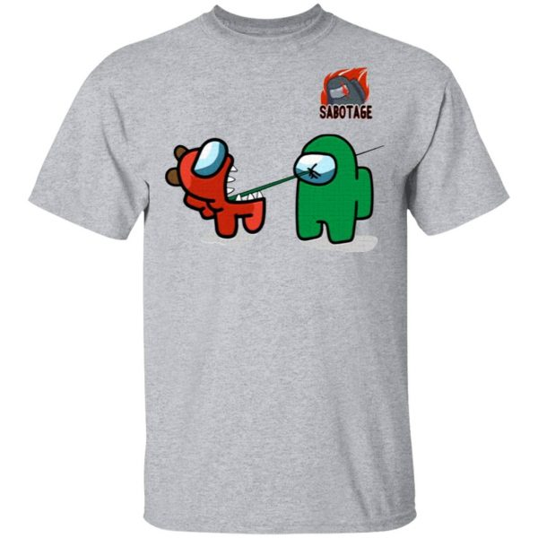 AmongUs Merch Impostor Kill Character T-Shirt