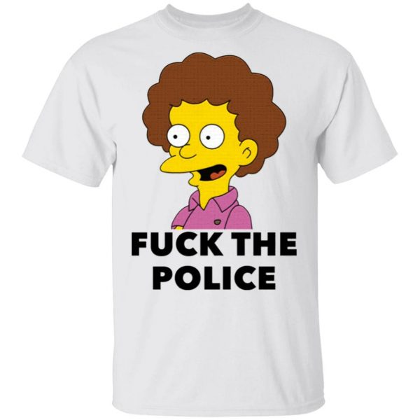 Todd Flanders Fuck the police T-Shirt
