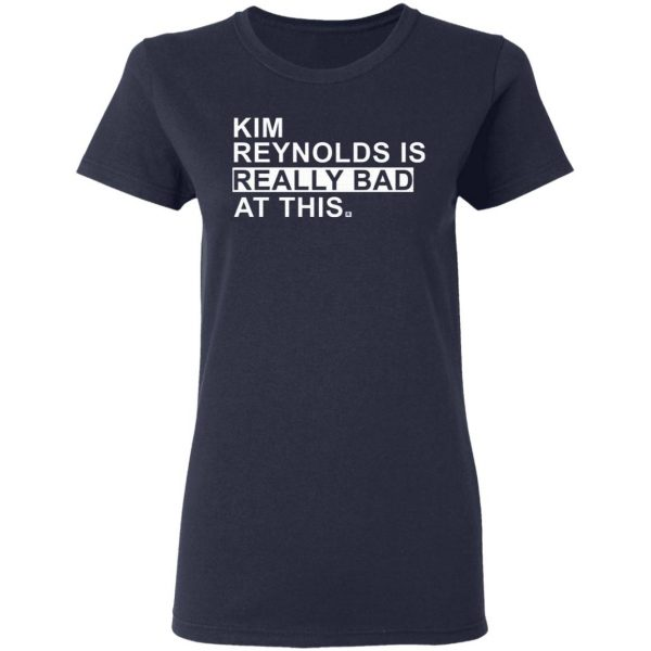 Kim Reynolds Is Really Bad At This T-Shirt