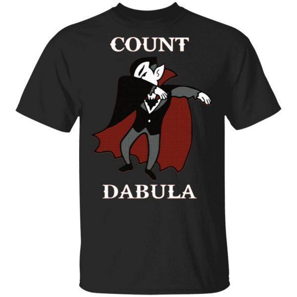 Halloween Count Dabula Dab T-Shirt
