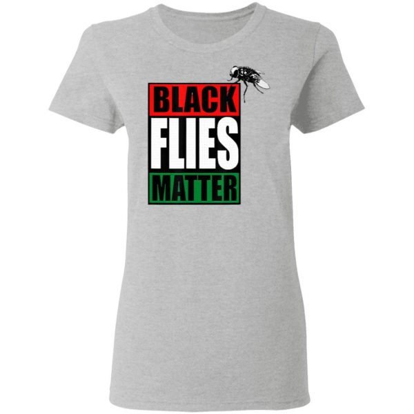 Black Flies Matter Funny Fly Pence Trump Biden Vote 2020 T-Shirt
