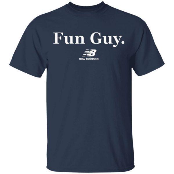 Kawhi Leonard Fun Guy New Balance T-Shirt