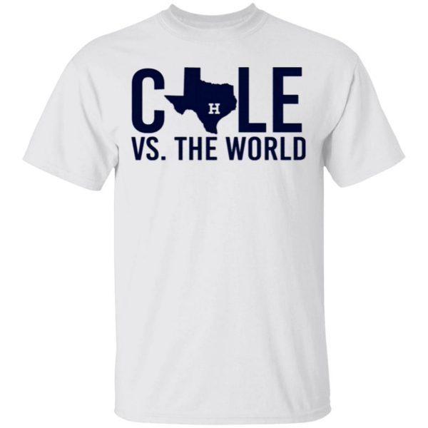 Verlander Cole 2019 Gerrit Cole Vs The World T-Shirt