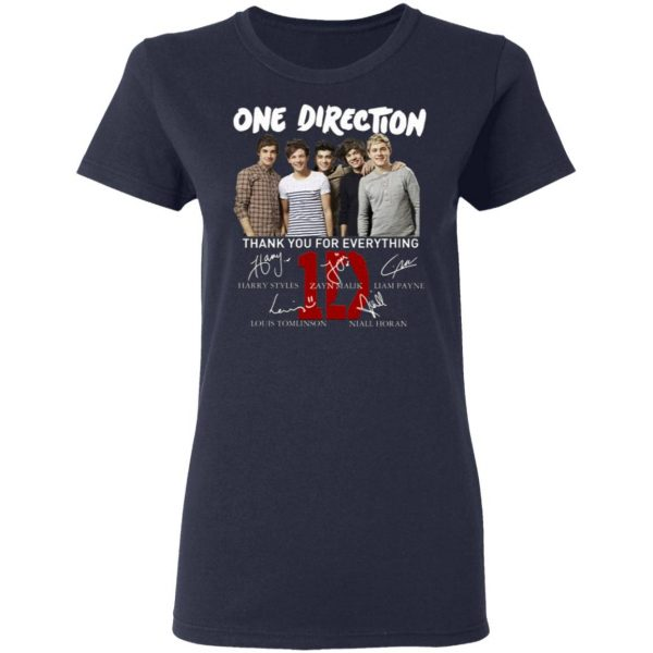One Direction Thank You For Everything Signature T-Shirt