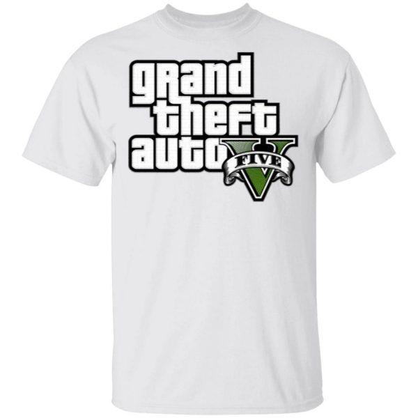 Grand Theft Auto V Logo T-Shirt
