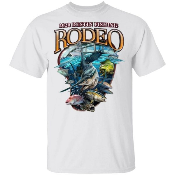 2020 Destin Fishing Rodeo T-Shirt
