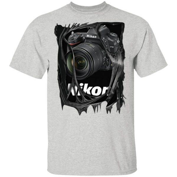 New Popular Professional Nikon Photography T-Shirt