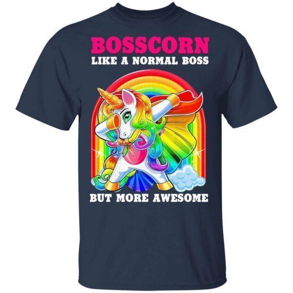 Bosscorn like a normal Boss but more awesome Diamond pride T-Shirt