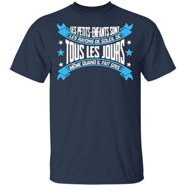 Les Petits enfants sont Les Rayons De Soleil de Tous Les Jours Meme quand Il fait Gris T-Shirt