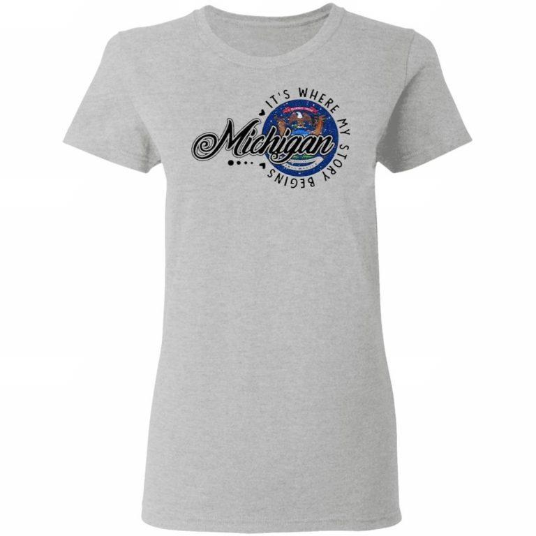G500L Ladies' 5.3 oz. T-Shirt