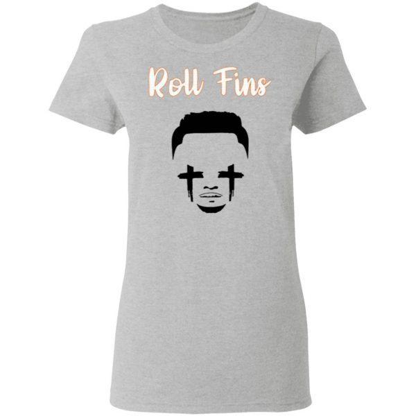 Dolphins fans Roll Fins T-Shirt